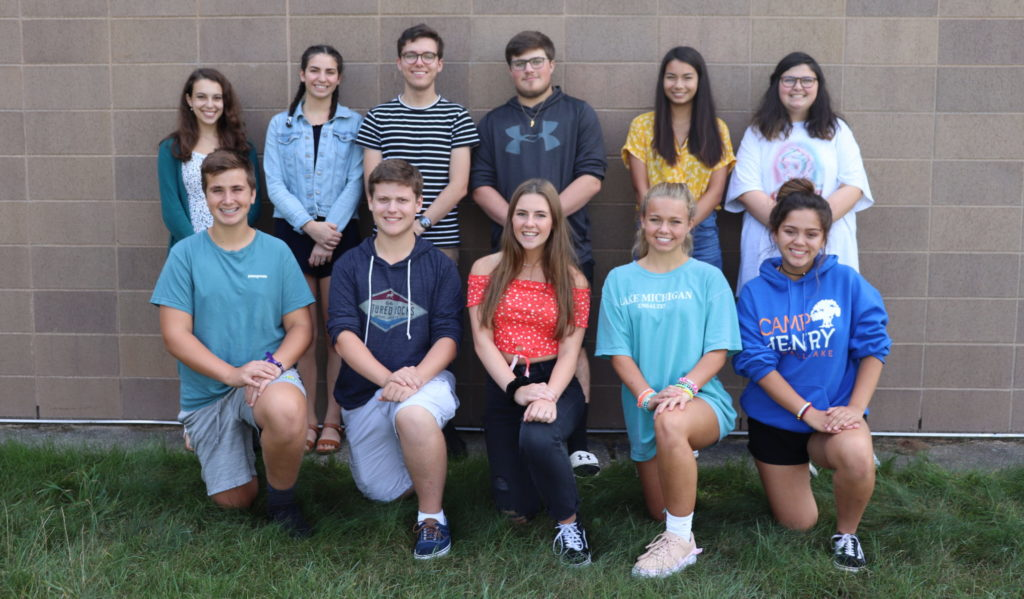 the student writers of the Hawk Herald